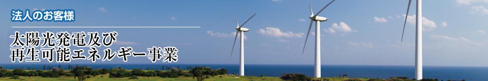 法人:再生可能エネルギー事業|株式会社 大木無線電気