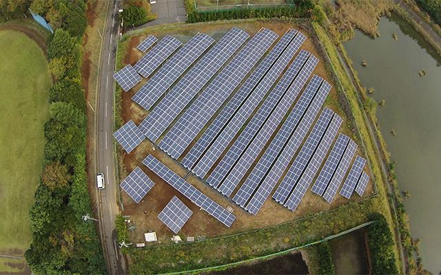 自社太陽光発電所|株式会社 大木無線電気