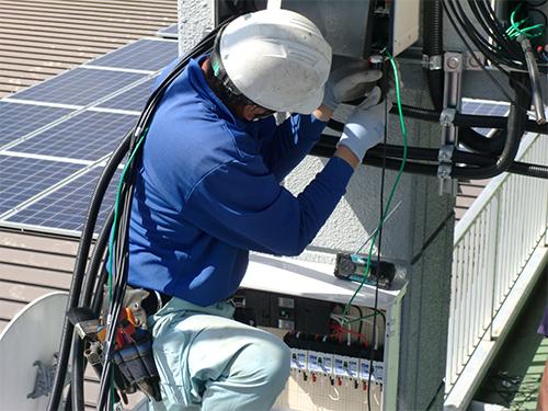 屋根設置|株式会社 大木無線電気