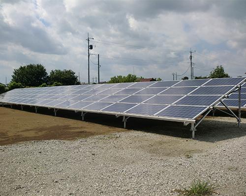 産業用野だて太陽光発電(低圧)|株式会社 大木無線電気